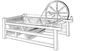 Hargreave improved spinning jenny